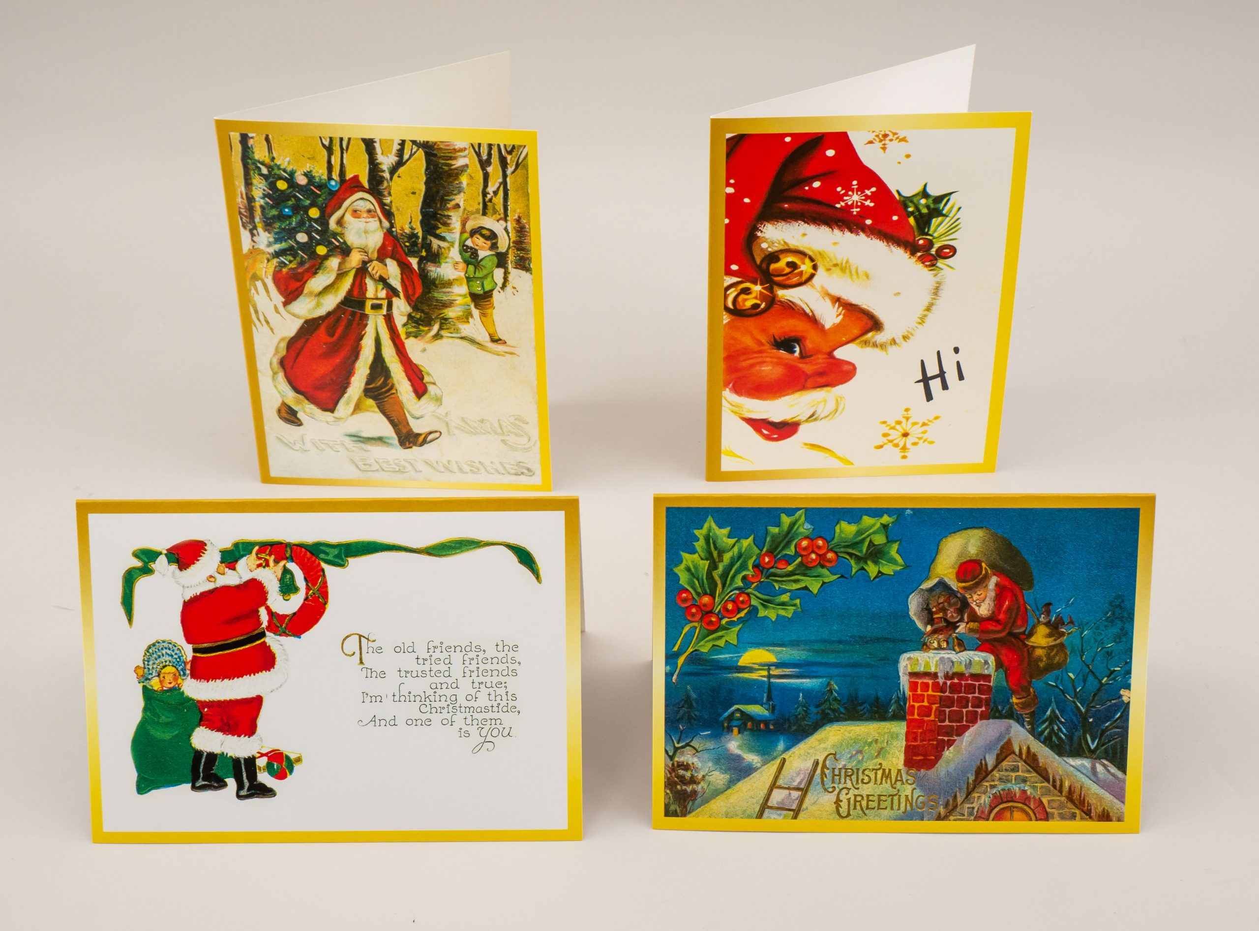 the history of christmas cards at woodstock museum  the